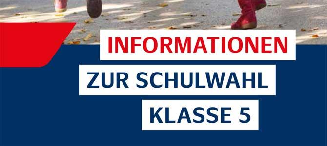 Informationen zum Wechsel auf die weiterführende Schule