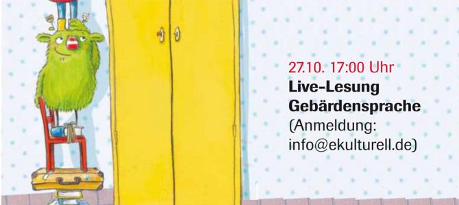 """Kinderlesung """"Das kleine WIR"""" in Gebärdensprache"""